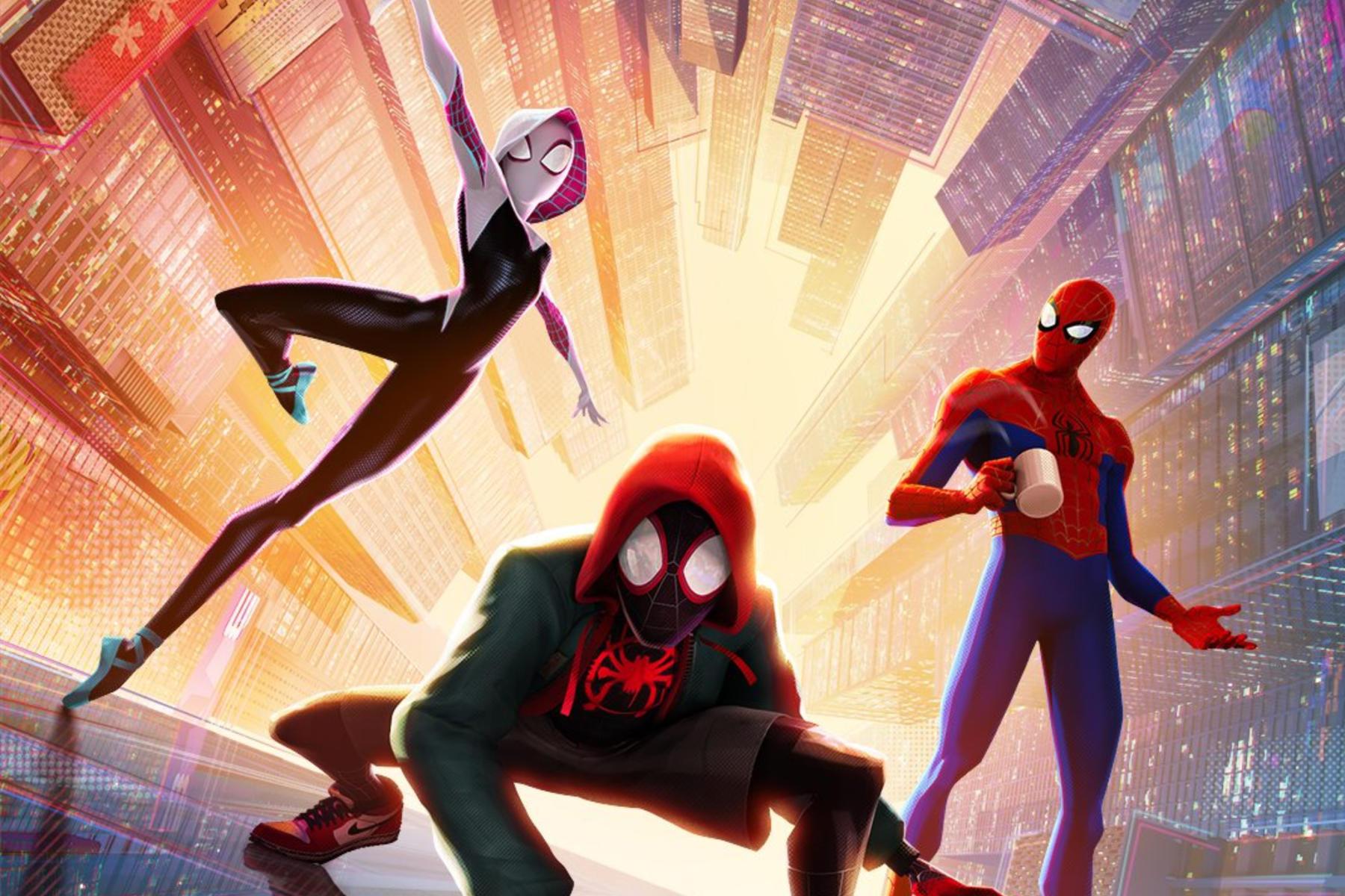 movie night spider man into the spider verse  highlander